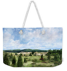 Weekender Tote Bag featuring the photograph Dunescape Preserved Forever by Kathi Mirto