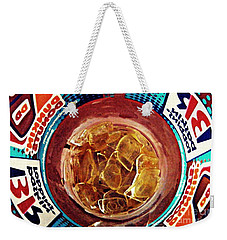 Dunkin Ice Coffee 19 Weekender Tote Bag