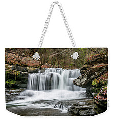 Dunloup Creek Falls Weekender Tote Bag