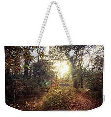 Dunmore Wood - Autumnal Morning Weekender Tote Bag