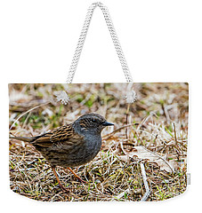 Dunnock Weekender Tote Bag by Torbjorn Swenelius