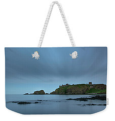 Dunnottar Castle On A Summer Night Weekender Tote Bag