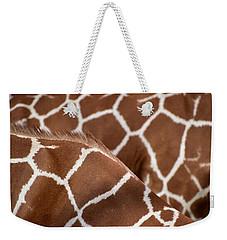 Duo Giraffe Pattern Weekender Tote Bag