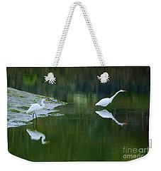 duo Weekender Tote Bag by Sheila Ping