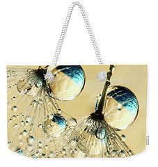 Duo Shower Dandy Drops Weekender Tote Bag