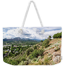 Weekender Tote Bag featuring the photograph Durango No.1 by Margaret Pitcher