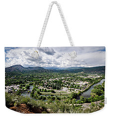 Weekender Tote Bag featuring the photograph Durango No.2 by Margaret Pitcher