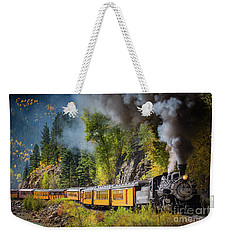 Durango-silverton Narrow Gauge Railroad Weekender Tote Bag