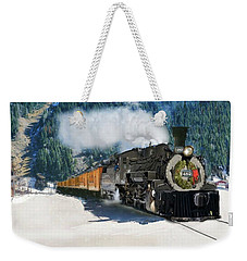 Durango To Silverton Train Weekender Tote Bag