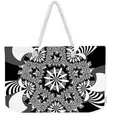 Weekender Tote Bag featuring the digital art Durbossely by Andrew Kotlinski