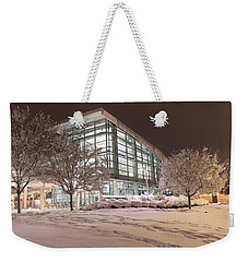 Weekender Tote Bag featuring the photograph Durham Station by Ben Shields