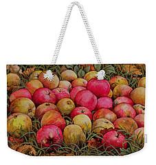 Durnitzhofer Apples Weekender Tote Bag by Ditz