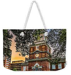Dusk At Independence Hall Weekender Tote Bag