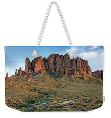 Dusk At Lost Dutchman Weekender Tote Bag