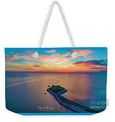 Dusk At The Knob Weekender Tote Bag