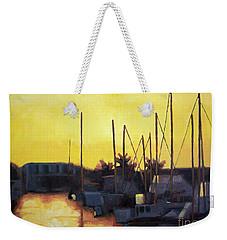 Dusk At The Marina Weekender Tote Bag