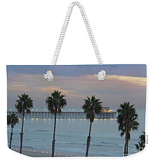 Dusk At The Pier Weekender Tote Bag