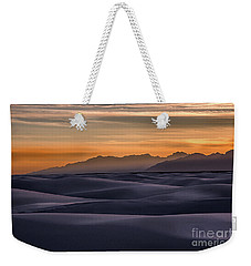 Dusk At White Sands Weekender Tote Bag
