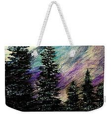 Dusk On Purple Mountain Weekender Tote Bag