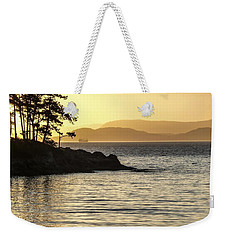 Dusk On Sucia Island Weekender Tote Bag