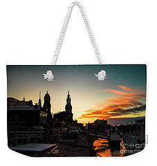 Dusk Weekender Tote Bag by Pravine Chester