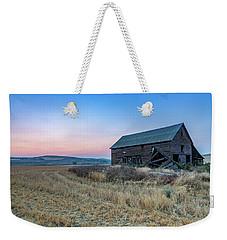 Dusk Setting On A Palouse Barn Weekender Tote Bag
