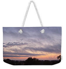 Weekender Tote Bag featuring the photograph Dusk by Skyler Tipton