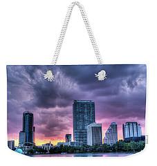 Dusky Downtown Orlando, Florida Weekender Tote Bag