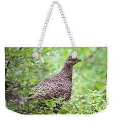 Dusky Grouse Weekender Tote Bag