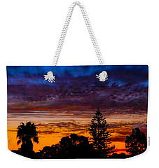 Weekender Tote Bag featuring the photograph Dusky by Mark Blauhoefer