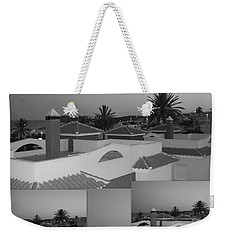 Dusky Rooftops Weekender Tote Bag by Linda Prewer