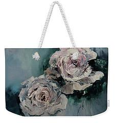 Dusky Roses Weekender Tote Bag