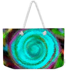 Weekender Tote Bag featuring the painting Dusted by Catherine Lott