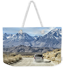 Dusty Weekender Tote Bag