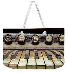 Dusty Old Keyboard Weekender Tote Bag