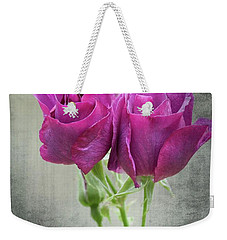 Dusty Roses Weekender Tote Bag