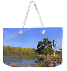 Dutch Countryside With Lakes, Trees, Meadows Weekender Tote Bag