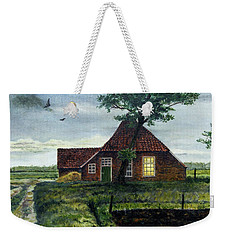 Dutch Farm At Dusk Weekender Tote Bag