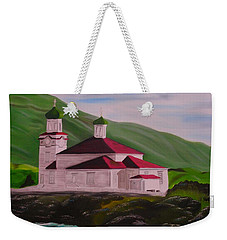 Dutch Harbor Church Weekender Tote Bag