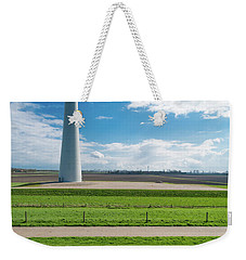 Weekender Tote Bag featuring the photograph Dutch Landscape With Windmill by Hans Engbers