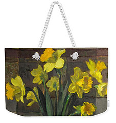 Dutch Master Narcissus In An Hourglass Vase Weekender Tote Bag