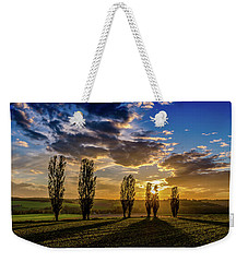 Dutch Moutains At Sunset Weekender Tote Bag