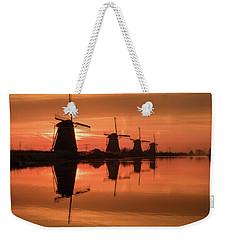 Dutch Sillhouette Weekender Tote Bag