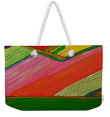 Dutch Tulip Fields Weekender Tote Bag