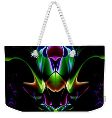 Weekender Tote Bag featuring the digital art Duvet Cover 7 by Mariella Wassing
