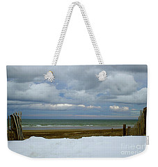 Duxbury Beach 3rd Crossover Weekender Tote Bag