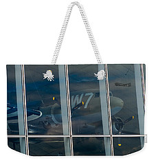 Weekender Tote Bag featuring the photograph Duxford Dakota Daydream by Gary Eason