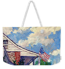 Dyckman House Nyc Weekender Tote Bag