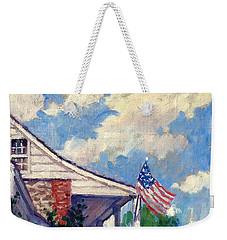 Dyckman House Nyc Weekender Tote Bag