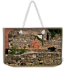 Dye House Of Luckenbach Mill, Colonial Industrial Quarter Weekender Tote Bag